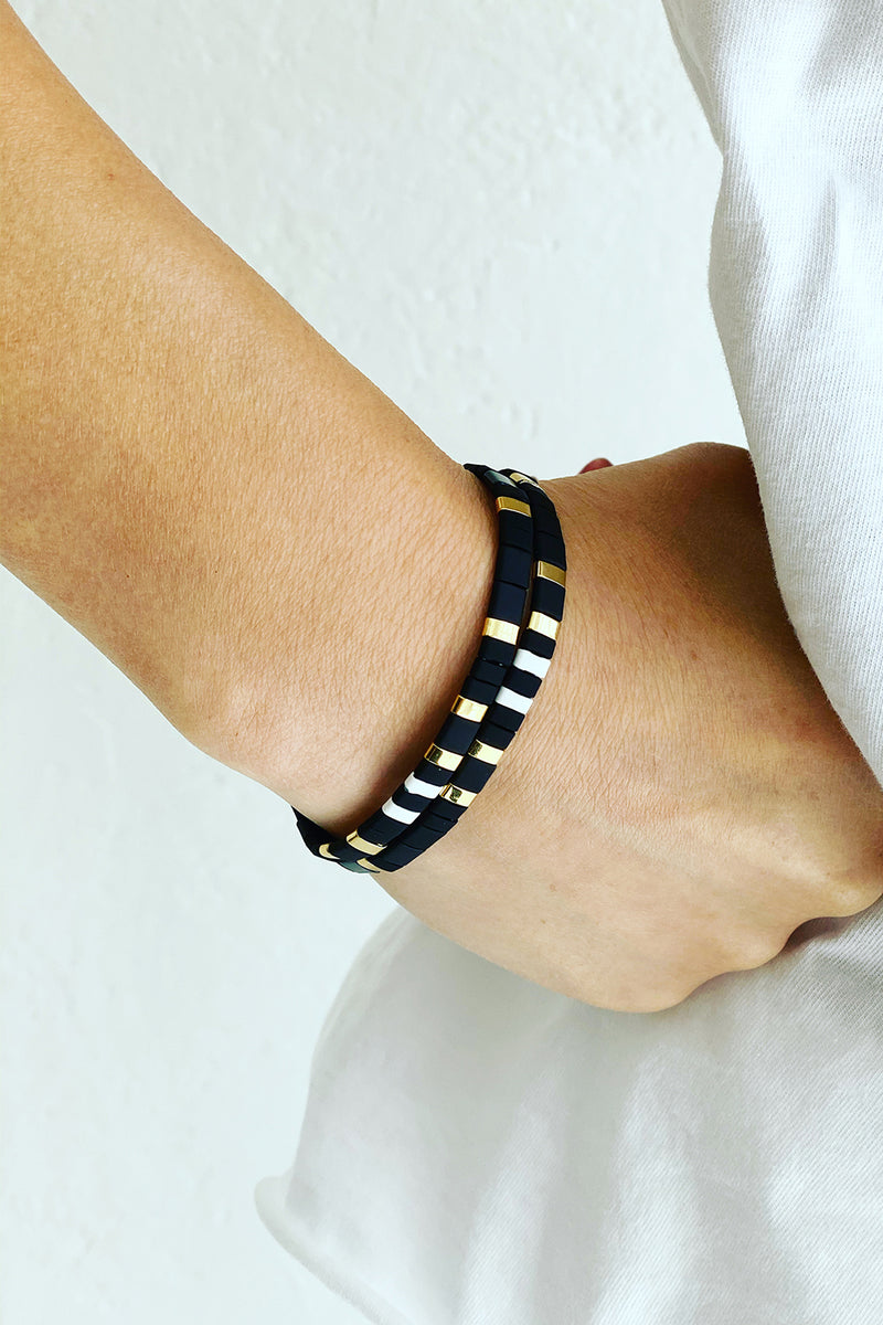 Roxy Bracelet BLACK Gold