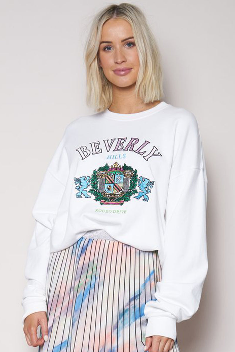 The Vintage Sweat - Beverly Hills Embroidery