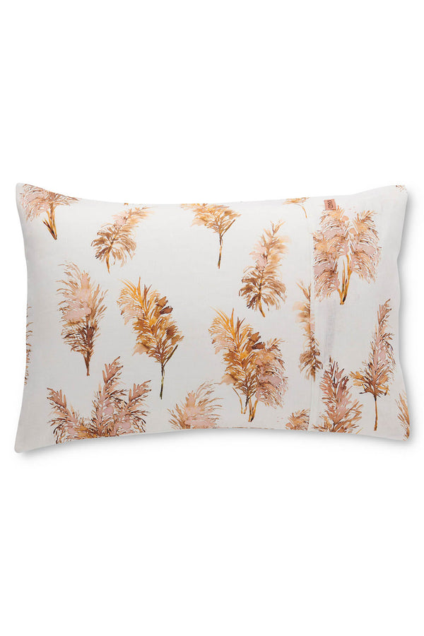 PAMPAS FIELD LINEN PILLOWCASES x 2