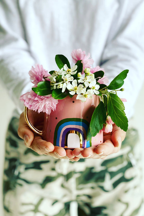 MINI JUG - RAINBOW - PINK