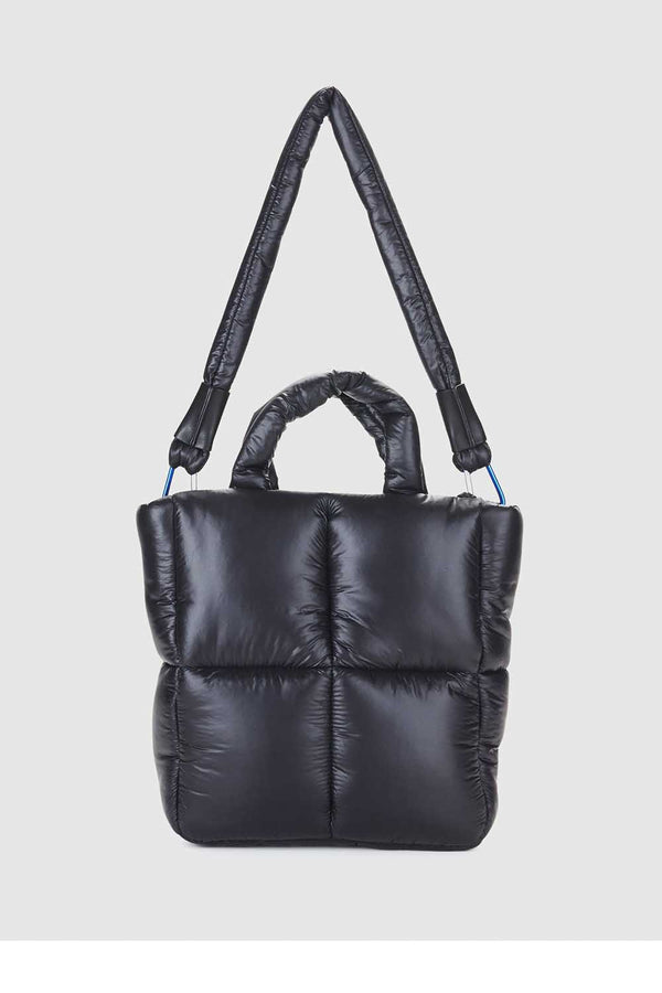 FIRST BASE MINI PUFF TOTE - NEO BLACK - PRE-ORDER MID TO LATE MAY