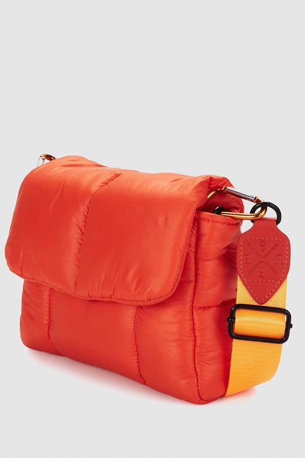 PUFF SHOULDER BAG - HIGH ALERT ORANGE - PRE-ORDER MID TO LATE MAY