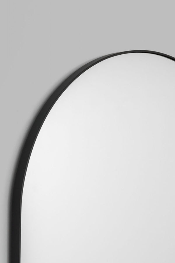 Bjorn Arch Floor Mirror - Black