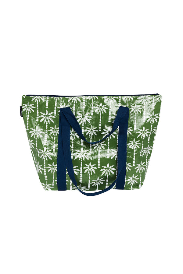 DESERT PALMS MEDIUM ZIP UP TOTE