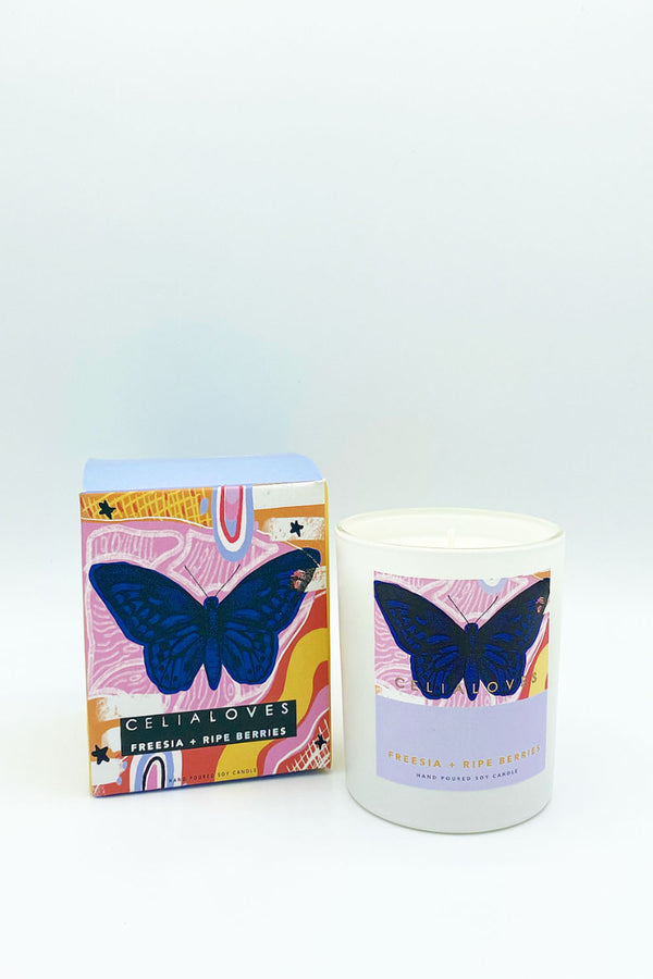 LIMITED EDITION - FREESIA & RIPE BERRIES - CrateExpectations
