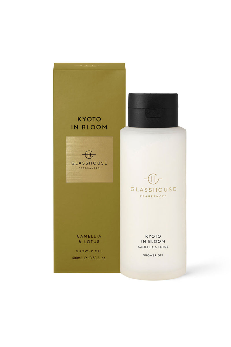 SHOWER GEL - KYOTO IN BLOOM - CAMELIA AND LOTUS - CrateExpectations