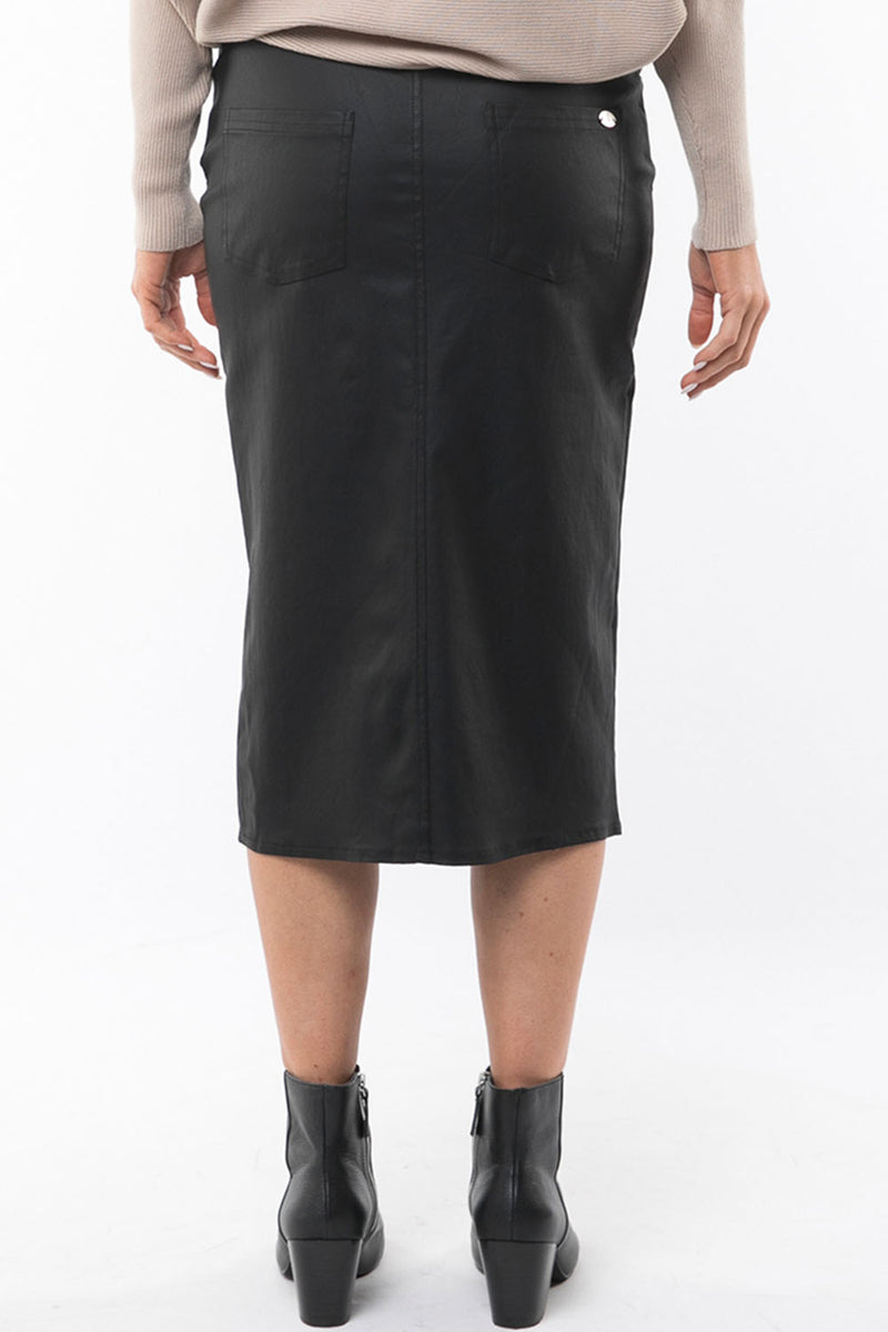 FOXWOOD ELVIRA SKIRT - BLACK - CrateExpectations
