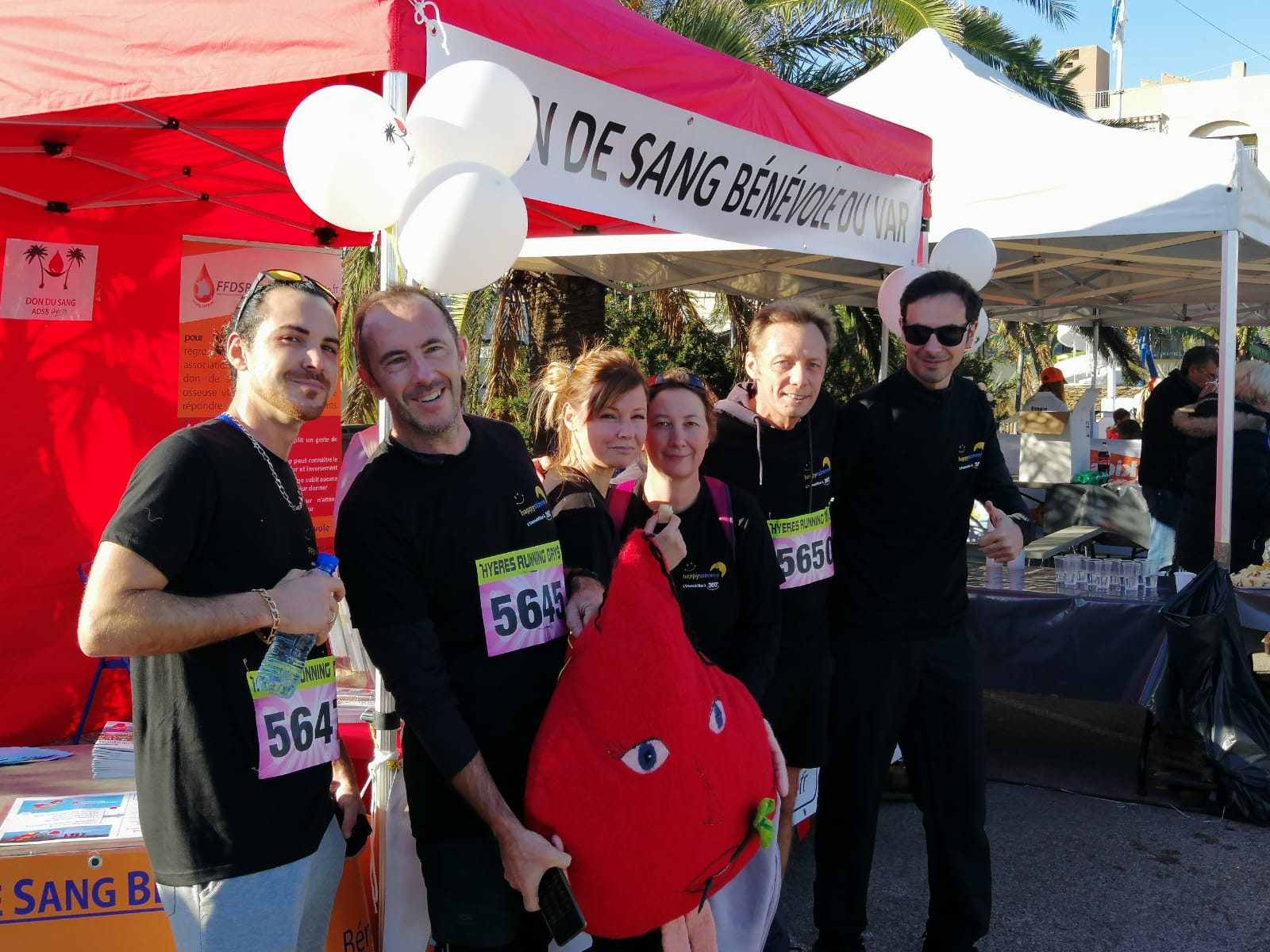 Happyssimmo - Team Happy - Hyères Running Days 2019 - Immobilier dans le var 83