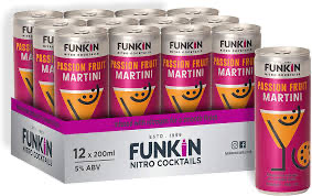 Load image into Gallery viewer, Funkin Passion Fruit Martini 12x200ml