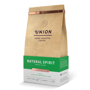 Union Coffee Ground Organic Natural Spirit 200g