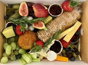 Load image into Gallery viewer, Vegan Ploughman's Grazing Box - Large