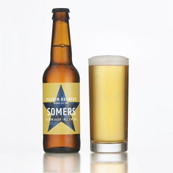 Load image into Gallery viewer, Pilgrim Somers Lager - Bottle