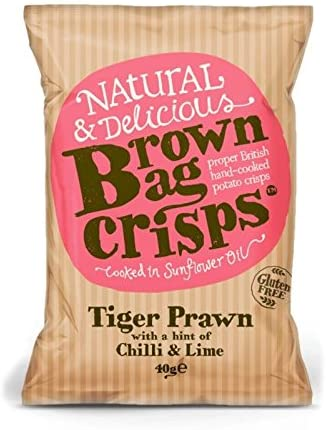 Brown Bag Tiger Prawn with Chilli & Lime - Small Bag