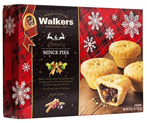 Walkers Luxury Mince Pies 372g