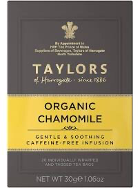 Load image into Gallery viewer, Taylors Chamomile Teabags x20