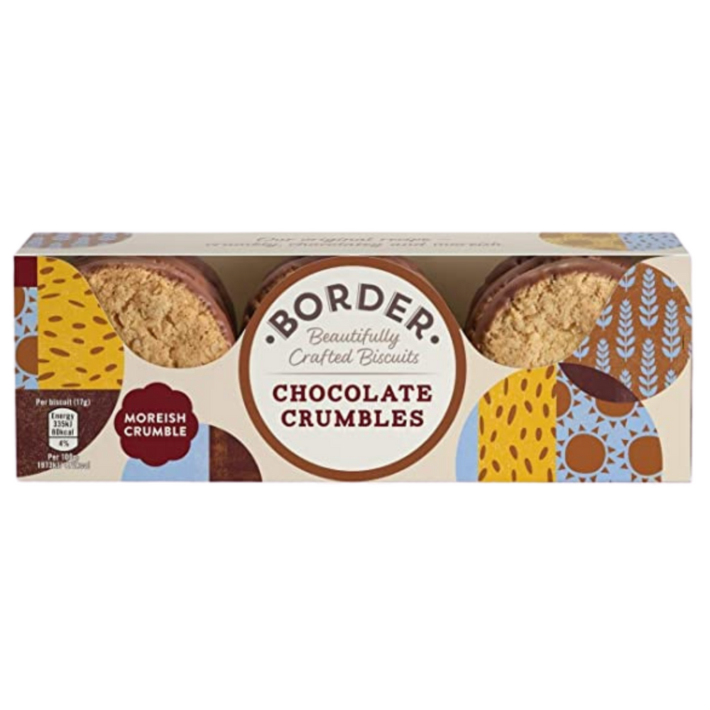 Borders Chocolate Crumble Biscuits