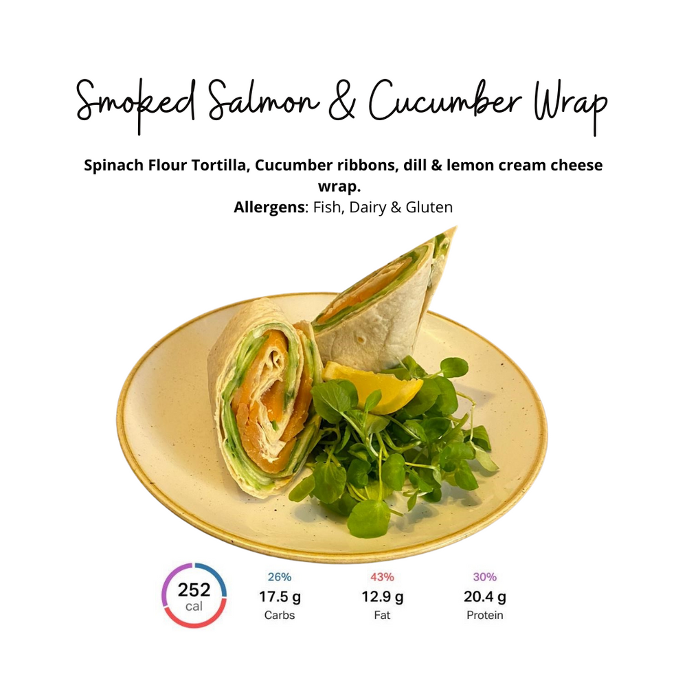 Load image into Gallery viewer, Salmon & Cream Cheese Wrap