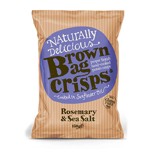 Brown Bag Rosemary & Sea Salt - Large Bag