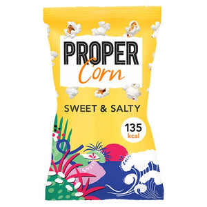 Proper Popcorn - Sweet & Salty - Large Bag 90g