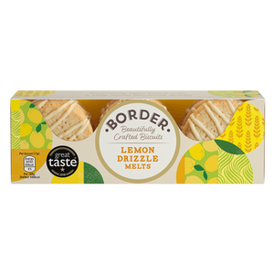 Load image into Gallery viewer, Borders Lemon Drizzle Melt Biscuits