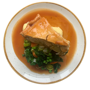 Vegetable Pie & Mash (Single size)