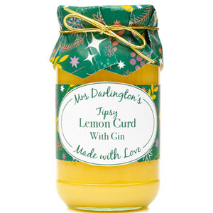 Mrs Darlington's Tipsy Lemon Curd with Gin 320g