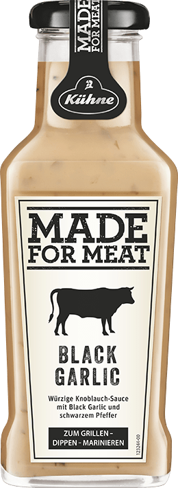 Made for Meat - Black Garlic & Pepper Sauce