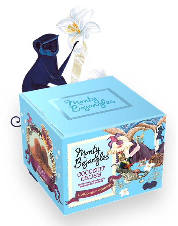 Monty Bojangles Coconut Crush