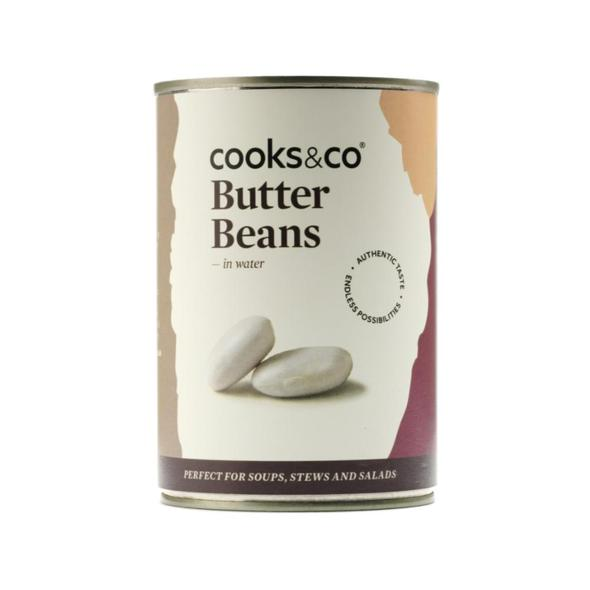 Cooks & Co Butter Beans in water 400g