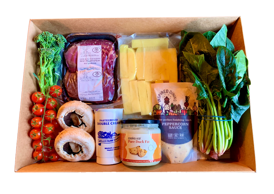 Fillet Steak Recipe Box (2 People)