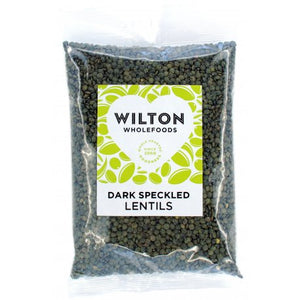 Load image into Gallery viewer, Wilton Wholefoods - Dark Speckled Lentils 'Puy' 500g