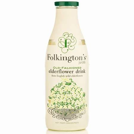Load image into Gallery viewer, Folkington's Old Fashioned Elderflower Drink 1Ltr