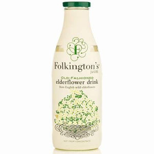 Folkington's Old Fashioned Elderflower Drink 1Ltr