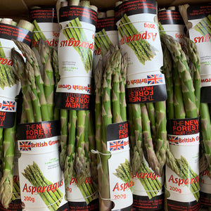 **SPECIAL** New Forest Farm English Asparagus - 200g