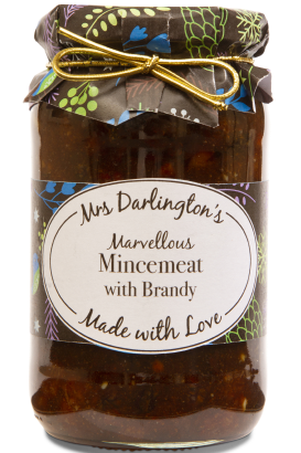 Mrs Darlington's Mincemeat with Brandy 410g