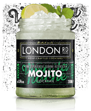 Load image into Gallery viewer, London Road Mojito Cocktail Jar 200ml