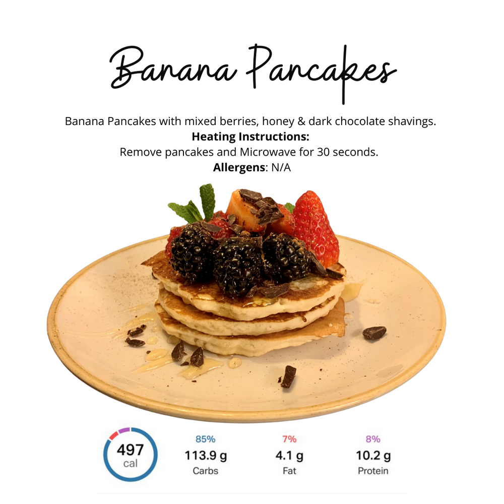 Load image into Gallery viewer, Banana Pancakes