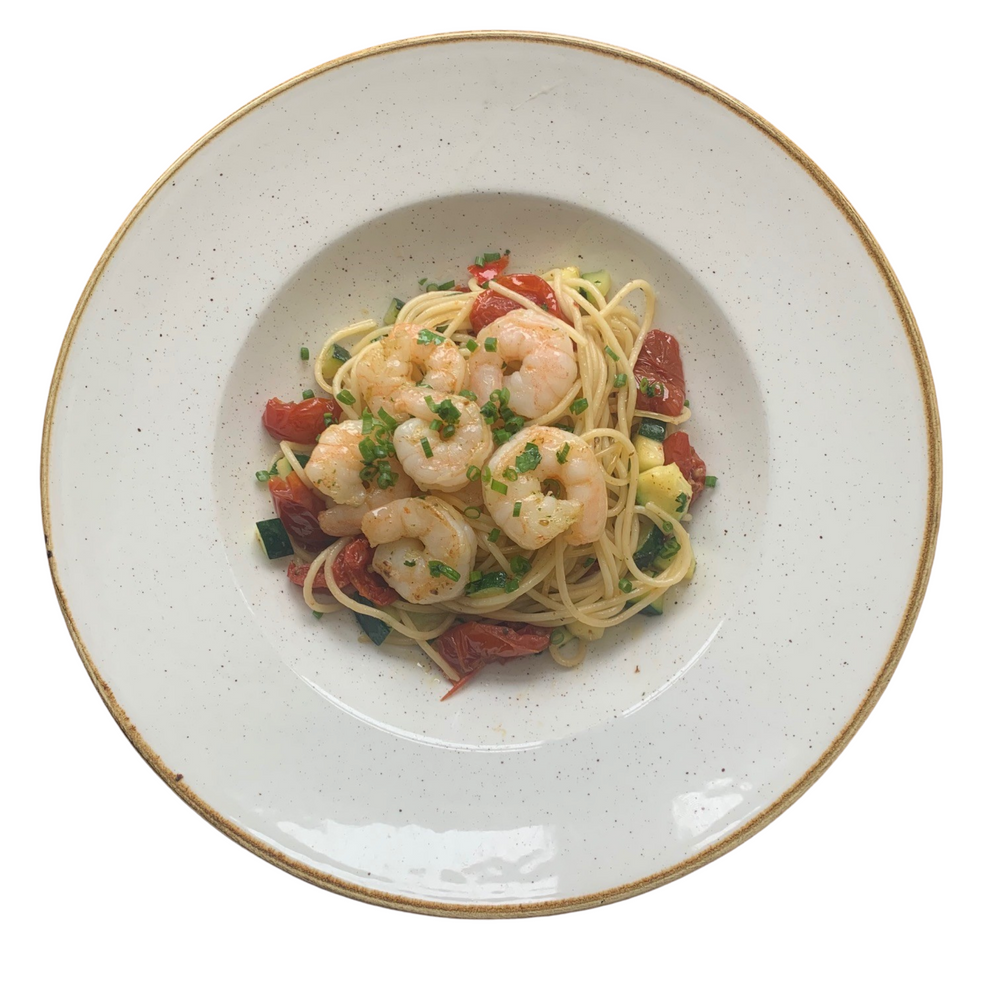 King Prawn Linguine (family size)