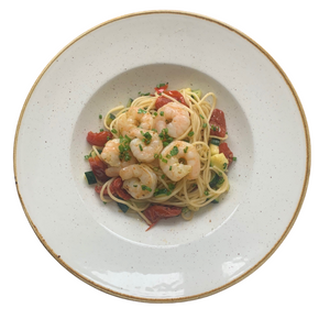 Load image into Gallery viewer, King Prawn Linguine (family size)