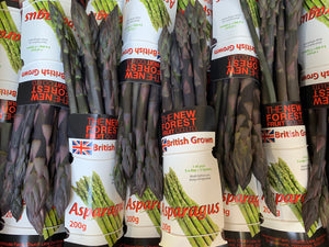 **SPECIAL** New Forest Farm English Purple Asparagus - 200g