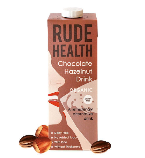 Load image into Gallery viewer, Rude Health Organic Chocolate Hazlenut 1L