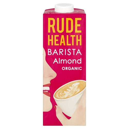 Rude Health Organic Barista Almond Milk 1L