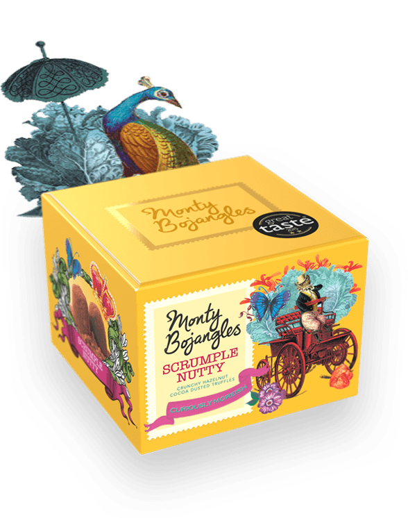 Load image into Gallery viewer, Monty Bojangles Scrumple Nutty Truffles- 150g