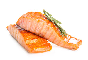 Load image into Gallery viewer, Hot Smoked Salmon 160g