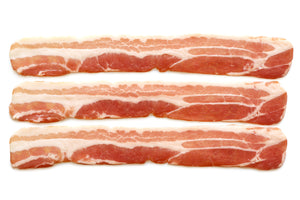 Load image into Gallery viewer, Unsmoked Streaky Bacon Rashers x12