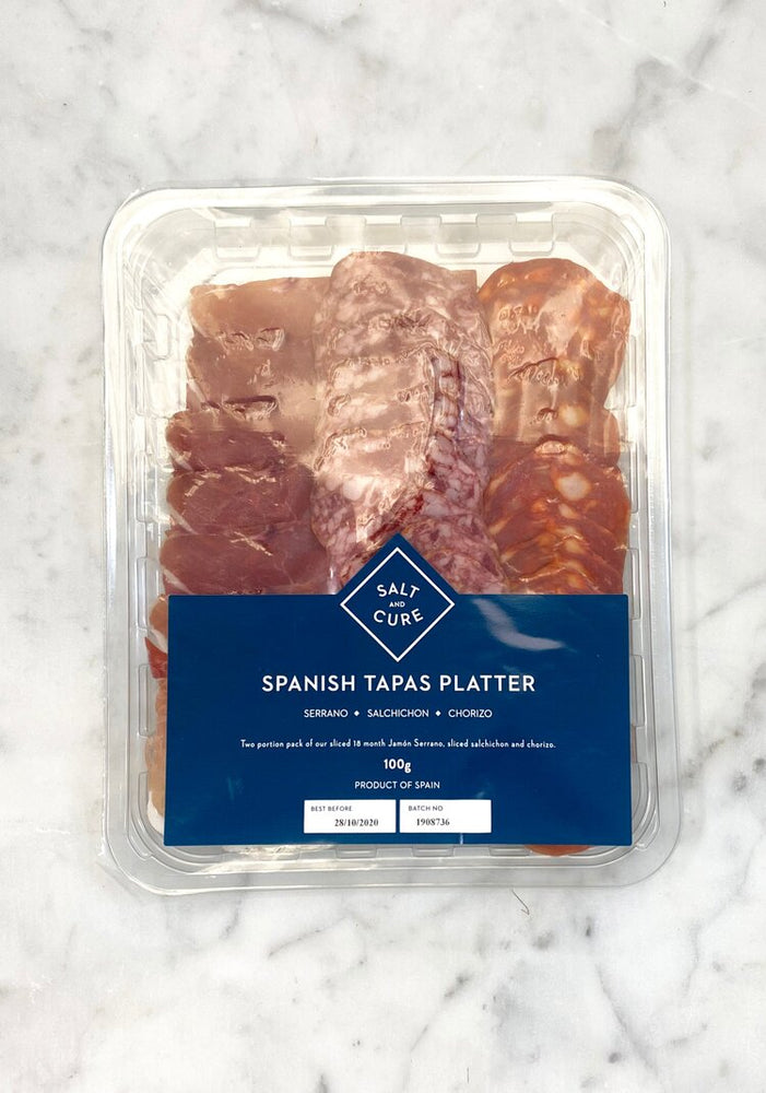 Mixed Spanish Tapas Platter 100g
