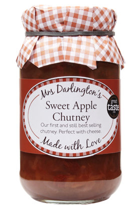 Load image into Gallery viewer, Mrs Darlington Sweet Apple Chutney 312g