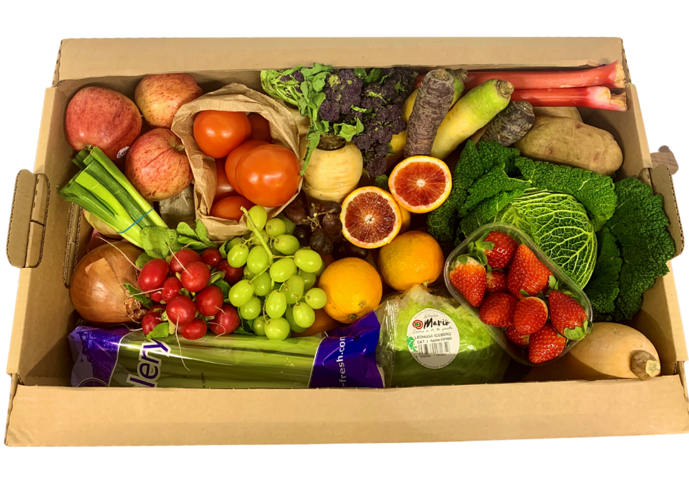 Seasonal Fruit & Veg Box (6 People)