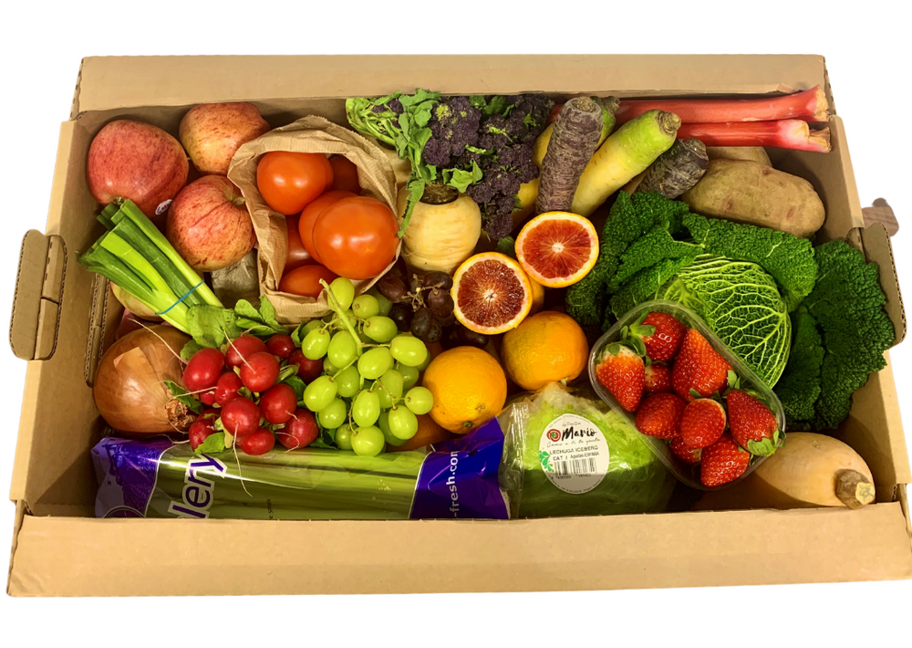 Seasonal Fruit & Veg Box (4 People)