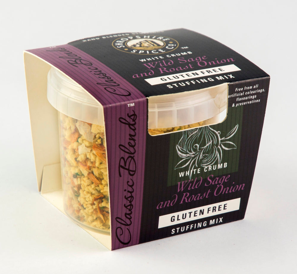 Load image into Gallery viewer, Shropshire Spice Gluten Free Sage & Roast Onion Stuffing 150g